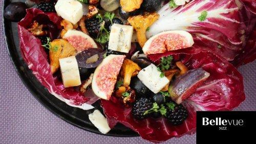 4 Herbstrezepte mit Blauschimmelkäse