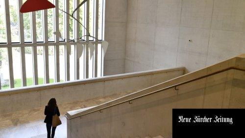 Dein steinerner Schleier und deine lichte Halle – eine Liebeserklärung an das Kunsthaus Zürich