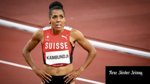 Mujinga Kambundji ist im Sprint über 200 m noch nicht ganz auf Topniveau