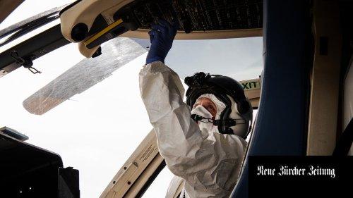 Corona in Zürich: Verlegungen mit Helikopter sind anspruchsvoll
