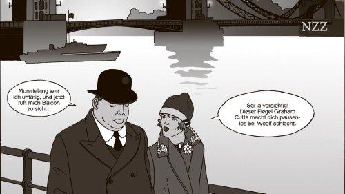 Wenn Hitchcock zur Comicfigur wird, garantiert das noch nicht für Spannung. Niveau ist auch im Comic eine Frage der Form, nicht des Gegenstandes