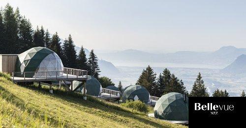 10Orte für Glamping in der Schweiz