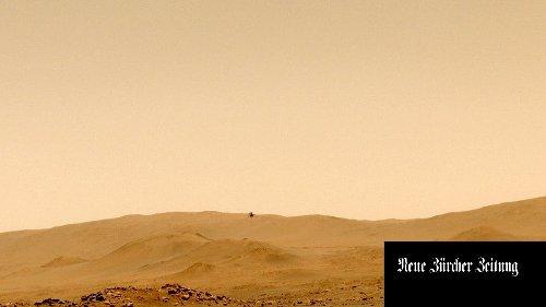 Erstmals Ton-Aufnahme von Mars-Flug veröffentlicht