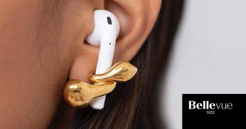 Kabellose Kopfhörer werden jetzt als Schmuckstücke getragen