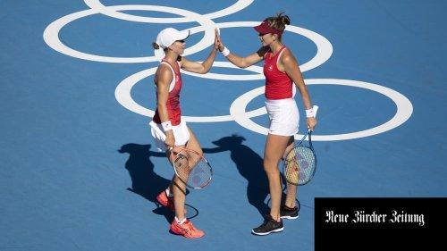 Belinda Bencic und Viktorija Golubic verlieren den Olympia-Final im Doppel