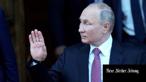 Putin dankt der Schweiz für die Gastfreundschaft