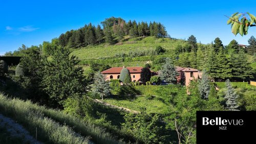 Villa Giarvino: ein Bijou inmitten von Rebbergen in Piemont