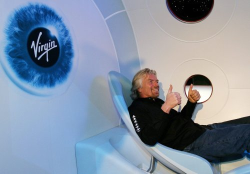 Is Richard Branson Abandoning Virgin Galactic?