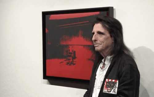 Alice Cooper is Auctioning Off an Andy Warhol Silkscreen He Forgot About for Years