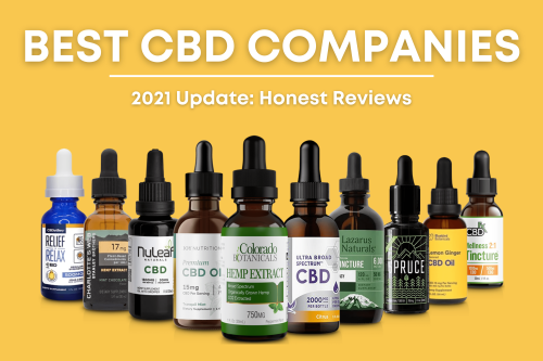 11 Best CBD Companies to Buy From in 2021: Honest Reviews & Guide
