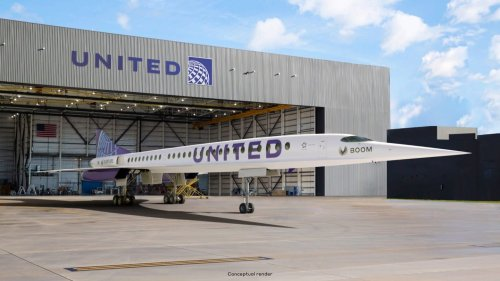 This Future United Airlines Jet Can Cross the Atlantic in 3.5 Hours—If You Can Wait