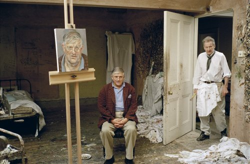 Lucian Freud's Reverential Portrait of David Hockney is Coming to Sotheby's