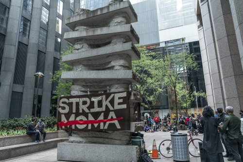 """Strike MoMA"" Protests Led to Five Activists Being Banned From the Museum"
