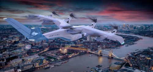 UK Air Taxi Startup Vertical Aerospace Joins SPAC Boom to Go Public on NYSE