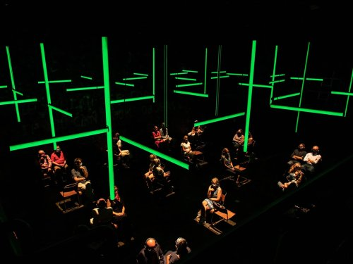 Experiencing Theater Again at Off Broadway's 'Blindness'