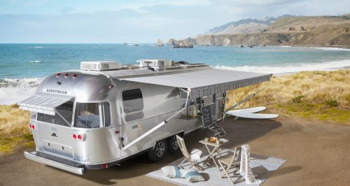 Airstream and Pottery Barn Teamed Up to Create the Most Stylish Travel Trailer Yet