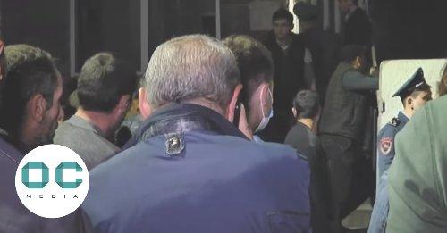 Plane 'carrying POWs' lands empty in Yerevan