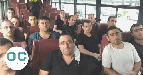 15 Armenian captives freed in deal negotiated with help of US, Georgia, and OSCE