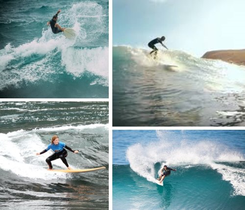 Calhau Surfing on Madeira's North Coast