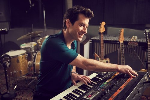 Mark Ronson describes harmonizing with John Lennon's voice in 'Watch the Sound'
