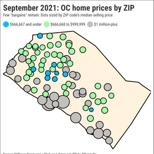 34% of Orange County has become million-dollar neighborhoods
