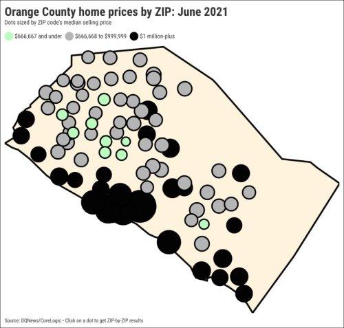 Orange County housing adds 9 million-dollar ZIPs, loses 14 'bargain' neighborhoods