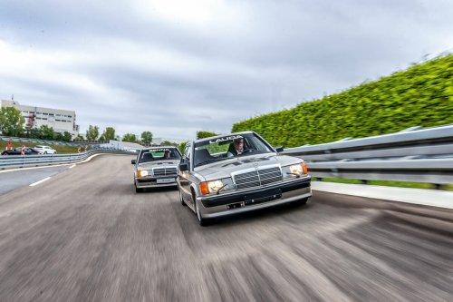 Alte Mercedes-Duellanten
