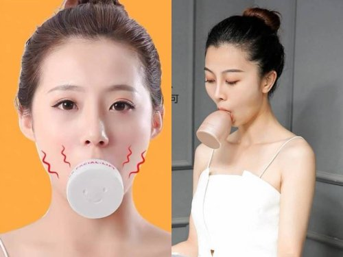 Suck-On Gadget Promises to Give Women a Coveted V-Shaped Face