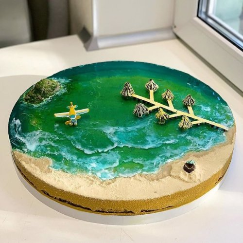 These Marine-Themed Cakes Are the Coolest Treats We've Seen in a While