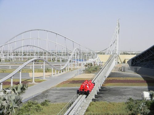 The World's Fastest Roller Coaster Requires Riders to Wear Safety Goggles