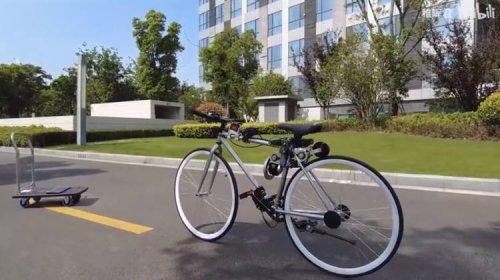 Engineer Falls Off Bicycle, Creates Self-Balancing Bike That Anyone Can Ride