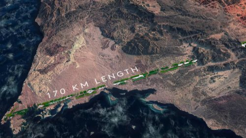 The Line – Saudi Arabia's Controversial 170-Km-Long Linear City of the Future