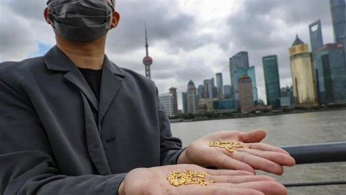 Artist Slammed for Throwing Away 1,000 Pure Gold Rice Grains to Highlight Food Waste
