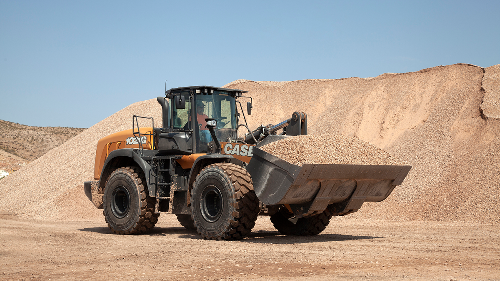 CASE CE Looks to Improve Quality of Operation with G Series Wheel Loader Updates