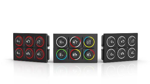 EAO Series 09 CANbus Keypad/Rotary Controller Joystick Module