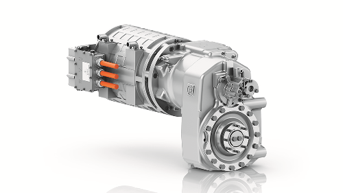 ZF eTRAC Electric Drive System for Wheeled Excavators