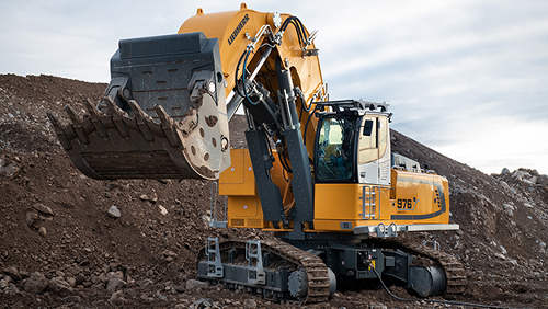 Liebherr Introduces New Electric Crawler Excavators