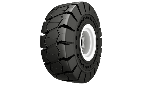 Yokohama Galaxy LHD 510 SDS Traction Tire