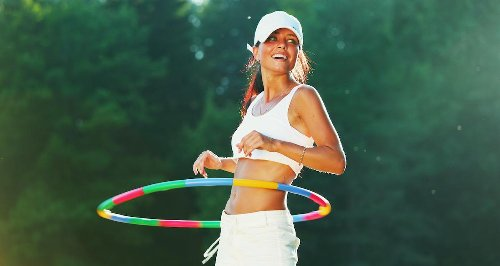 Amazon's 13 Weighted Hula Hoops Under $60 That Are so Much Fun