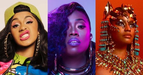 The female rappers with the most UK Top 10 singles