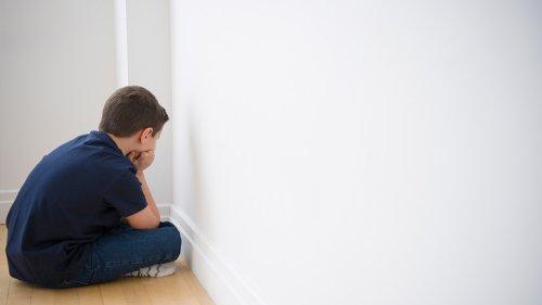 Junge muss auf die stille Treppe: Dann macht sein Hund eine rührende Geste