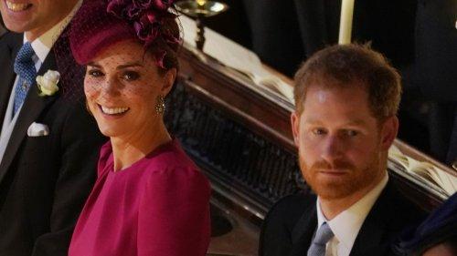 Beerdigung von Prinz Philip: Das Verhalten von Kate Middleton und Prinz Harry ist verblüffend