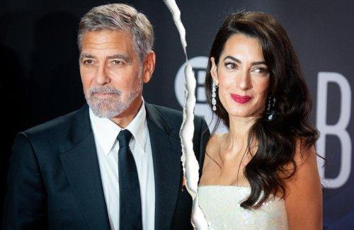 George & Amal Clooney: Folgt jetzt die Scheidung?