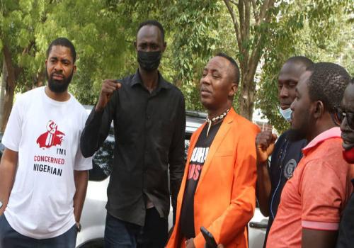Sowore, Adeyanju Deji Lead #RescueGreenfieldstudents Protest in Abuja (Photos)