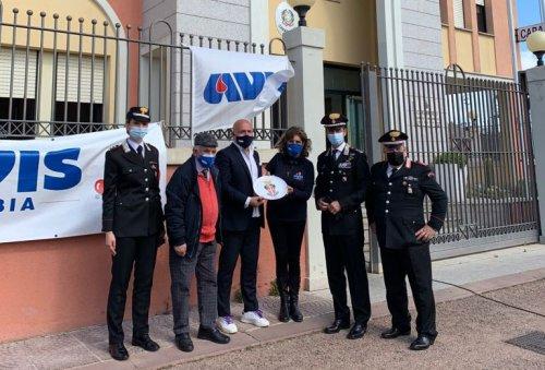 I carabinieri di Olbia donano il sangue in collaborazione con l'Avis