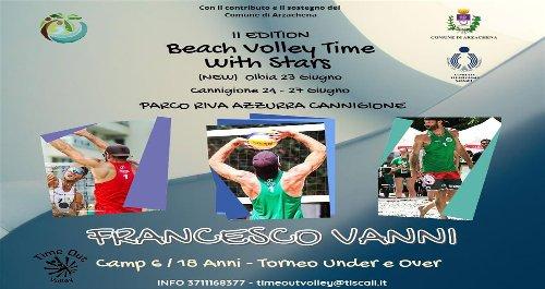 Seconda edizione del Beach Volley Time with Stars a Cannigione