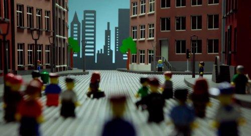 Lego - Adventure in the city, un estupendo corto en Stop-motion | Vídeo