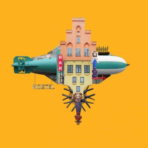 Arquitectura surreal en los hoteles voladores de Matthias Jung | Ilustración