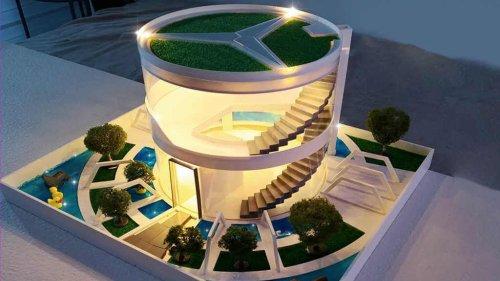 Casas de lujo para Hámsters   Arquitectura