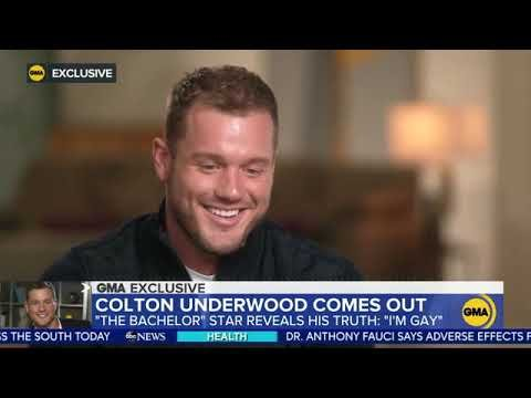 OMG, former 'Bachelor' Colton Underwood comes out as gay